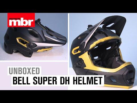 Bell Super DH Helmet Unboxed | Mountain Bike Rider