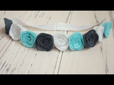 How To Make Gentle Felt Headband - DIY Style Tutorial - Guidecentral