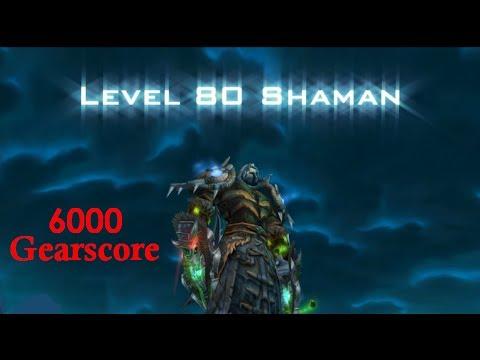 Подарявам Level 80 Enh/Resto Shaman в Molten-WoW