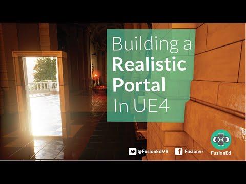 UE4 Tutorial: How To Build A Seamless Unreal Portal Door