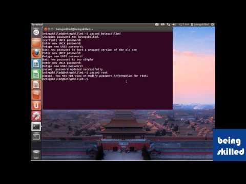 How to change root password in Linux / Unix based Operating Systems ( using Ubuntu 12.04 LTS )