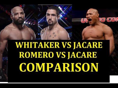 Whitaker and Romero VS JACARE SOUZA Fight Analysis