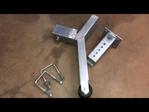 Hobie Pro Angler Trailer Build (Jet Ski Trailer) Part 1