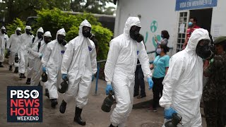 In Brazil, 'the virus has struck pretty ferociously'