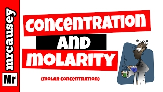 Concentration Dilutions And How To Calculate Molarity Mr Causey S Che