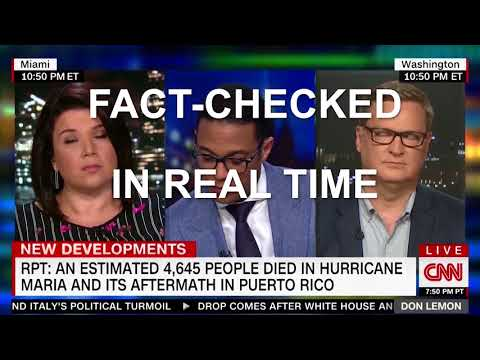 CNN Host Don Lemon fact checked a smooth lying Right Wing Hack in real time