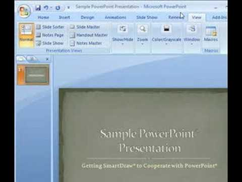 Using SmartDraw Diagrams in Microsoft Word® and PowerPoint®