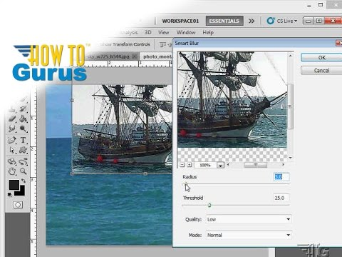 How to make an Adobe Photoshop Collage/Montage with Multiple Images - CS5 CS6 CC Tutorial