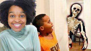 HAUNTED SKELETON ATTACKS Bad Baby Shiloh and Shasha - Onyx Kids