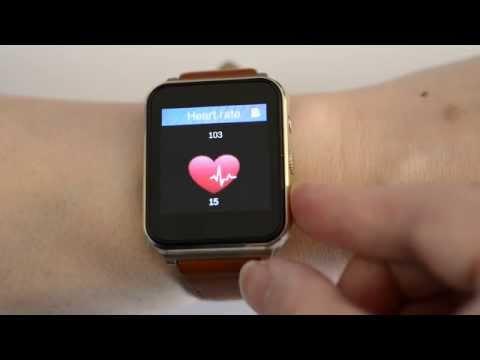 FlyShark Smartwatch - Heart Rate Testing (On Wrist)