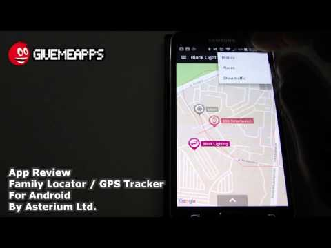 Family Locator / GPS Tracker Android App Review | GiveMeApps