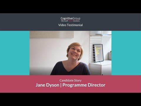 Microsoft Talent Solutions   Jane Dyson's story