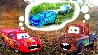 Disney Pixar Cars 3 Lightning McQueen & Mater Frozen Movie Disney Cars Toon Toys Tall Tale for Kids!