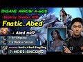 Fnatic Abed Mirana MIDLANE MODE Singsing Destroy Invoker Kid Dota 2 722 Pro Gameplay