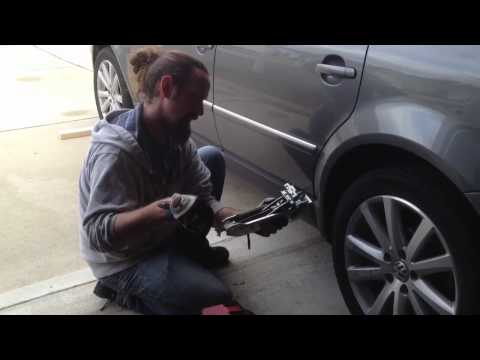 Tips on changing a tire, and using a VW jack