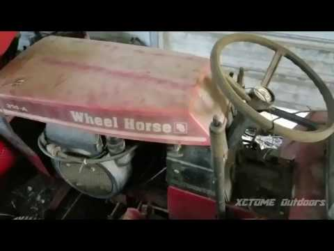 My Vintage Equipment Part 1| 1984 Toro Wheel Horse Tractor/Mower