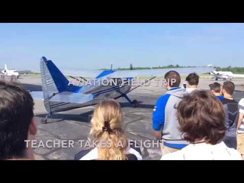 North Central State Airport field trip