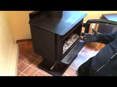 Wood Stove Baffle Plate Board Position Design Function Regency EPA