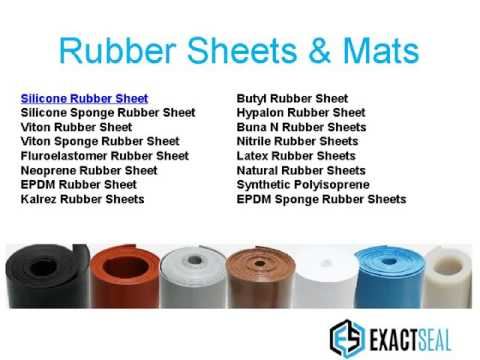 Exactseal Rubber Manufacture Rubber Gaskets Orings