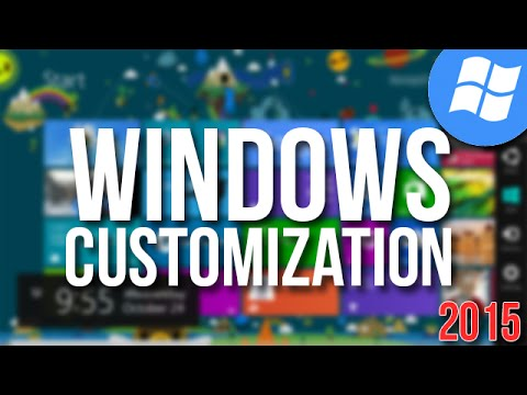 How To Customize Windows 8.1 Theme | Full Customization | 2015