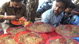 Download She Manages All | Mumbai Chicken Rice @ 50 rs | Street Food India Video