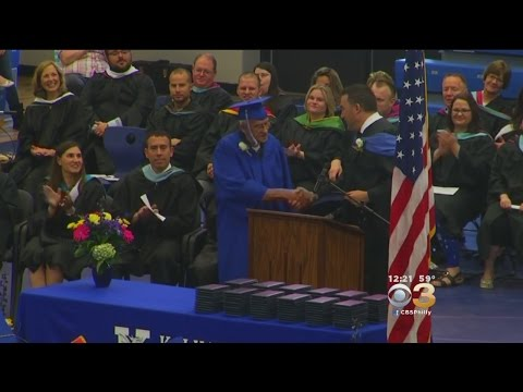 Love it: Vet Receives High School Diploma After Missing Graduation While At WWII