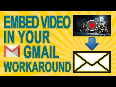 How To Embed YouTube Video In The Body of An Email In Gmail