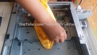 HOW TO CLEAN XEROX 5755 MACHINE XEROX WORK CENTER COMPLETE