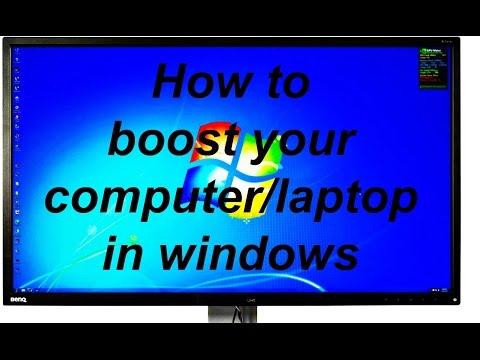 how to make your desktop/ laptop faster in windows(10/8/7/xp)