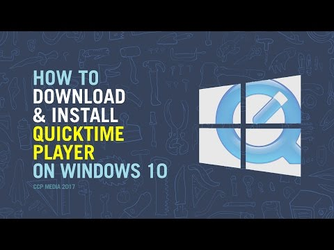 How to Download and install QuickTime on Windows 10 Tutorial 2017