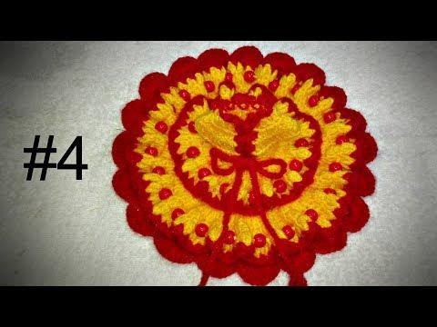How to make beautiful 2 layered crochet dress of Bal Gopal / Kanha Ji # 4