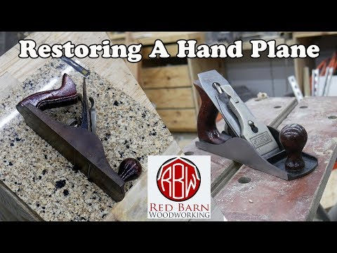 Hand Plane Restoration | Tribute to Hand Tool Rescue