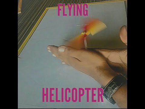How to make easy helicopter | scientific toy