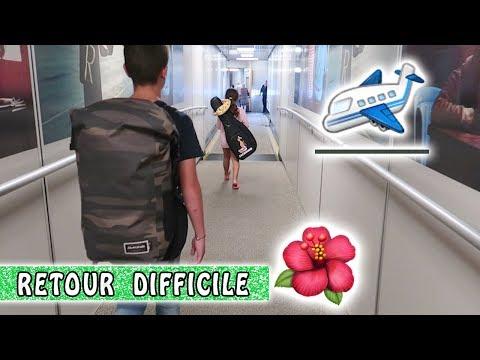 RETOUR DIFFICILE : En tong à Paris ! 😂 / Moorea Family vlog / Tahiti Vlog