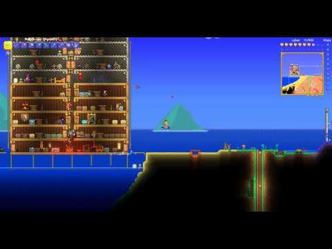 Terraria Lets play / Lan / multiplayerserver