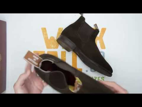 RM Williams Suede Craftsman Comfort Sole - Brown - Walktall | Unboxing | Hands on
