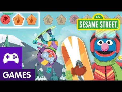 Sesame Street: Grover's Winter Games | Game Video