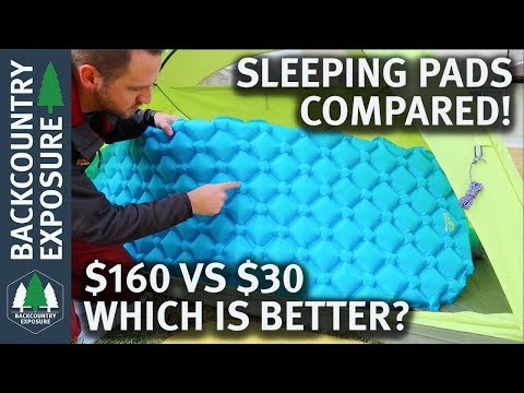 The Best Backpacking Sleeping Pad? | Cheap vs Expensive