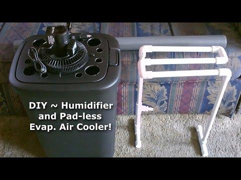 DIY Humidifier & Evap. Air Cooler! ~ A