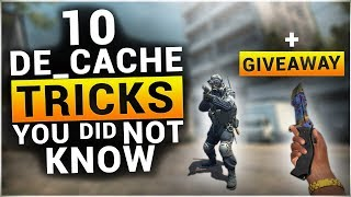 10 TRICKS on DE_CACHE You Probably Didn