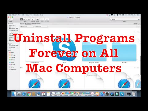 2018: How to Uninstall/Remove Programs Permanently on Mac (MacBook, iMac)