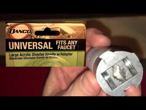 DIY LOOSE SHOWER HANDLE FIX - DANCO UNIVERSAL FAUCET ADAPTER