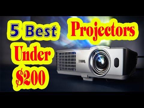 Best Projectors Under $200 to Buy in 2017