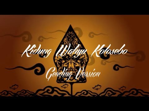 Lirik Lagu KIDUNG WAHYU KOLOSEBO Jawa Campursari - AnekaNews.net