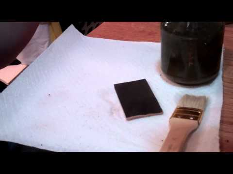 How to Make Black Leather Dye (Vinegaroon) Out of Crap Around Your House