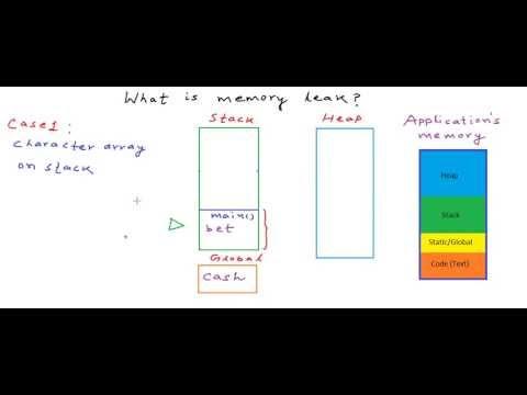 Memory leak in C/C++