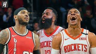 Portland Trail Blazers vs Houston Rockets - Full Highlights | January 15, 2020 | 2019-20 NBA Season