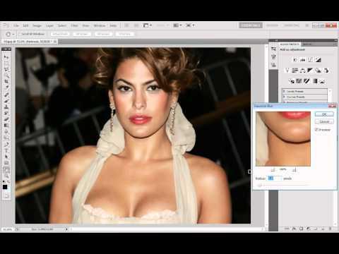 Adobe Photoshop CS5 - Airbrushing Tutorial