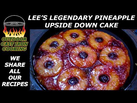 Lee's Legendary Pineapple Upside Down Cake