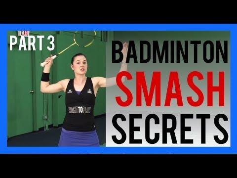 Badminton Smash Secret Part 3 - Your Racquet With The Power Smash